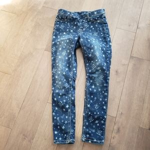 Wonder Nation L/G (10-12) moon and stars jeans